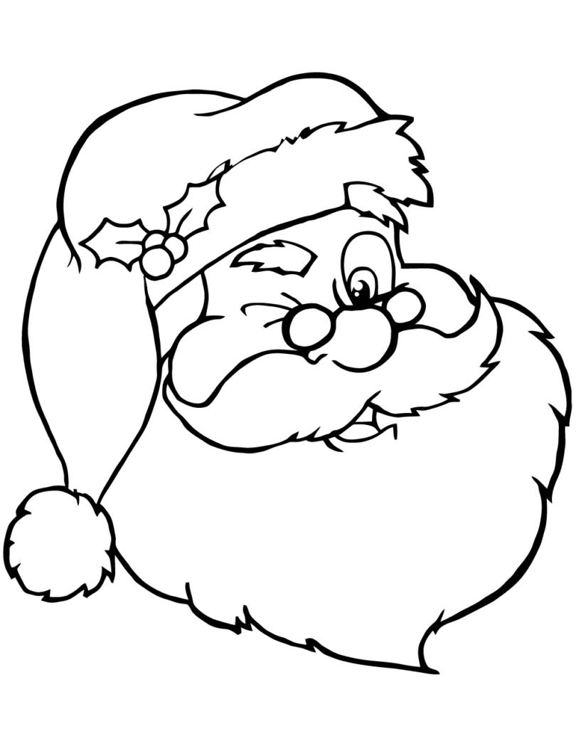 Santa Claus Colorear
