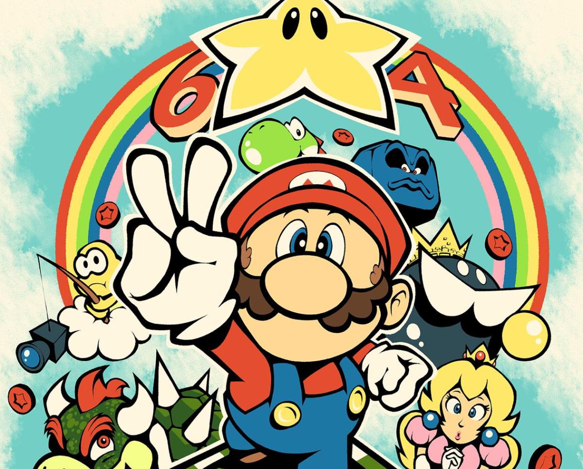 Dibujos para colorear de Mario (Super Mario)